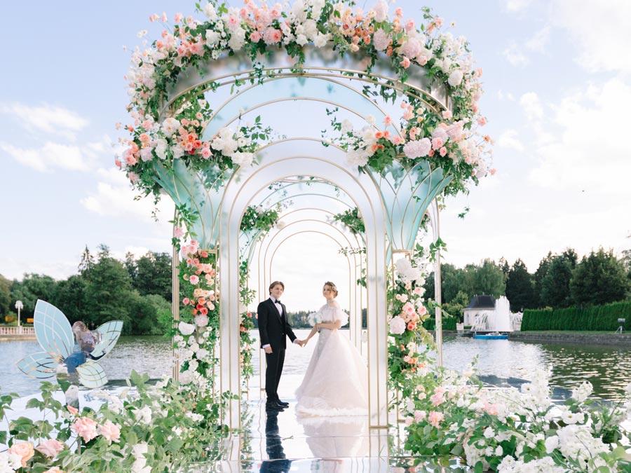 свадьба в стиле дисней для оли и миши 1