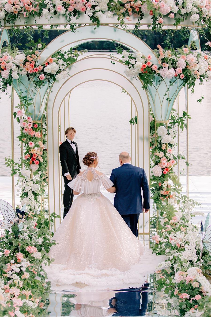 свадьба в стиле дисней для оли и миши 14