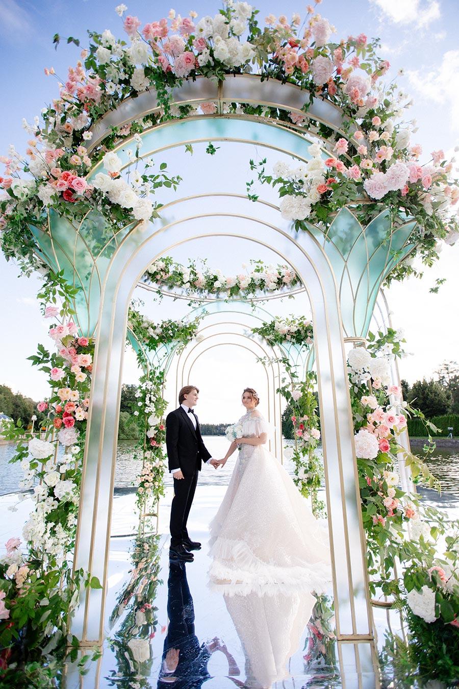 свадьба в стиле дисней для оли и миши 15